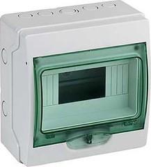 Щит распределительный навесной ЩРн-П-4 IP30 пластиковый белый без двери Тусо